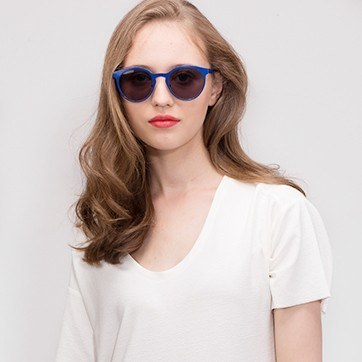 Blue Copenhagen -  Metal Sunglasses - model image