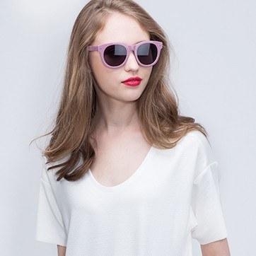 Pink Bikini -  Acetate Sunglasses - model image