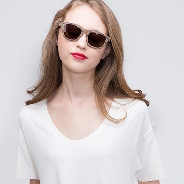 Brown Caracas -  Sunglasses - model image