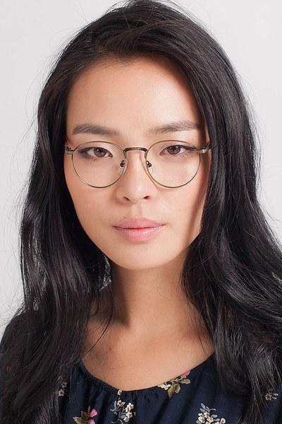 Fitzgerald Bronze Metal Eyeglasses Eyebuydirect