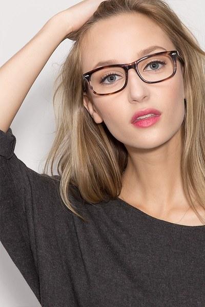Birmingham Coffee Acetate Eyeglasses EyeBuyDirect